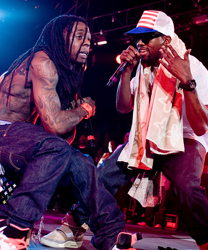 Lil Wayne Kanye